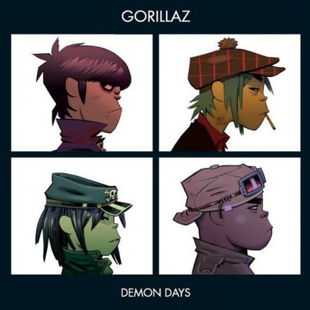 "Gorillaz - Demon Days/ Vinyl, 12"" [ 2LP/ 180 Gram/ Double Gatefold] [ Limited Edition] ( Repress, Reissue 2018)"