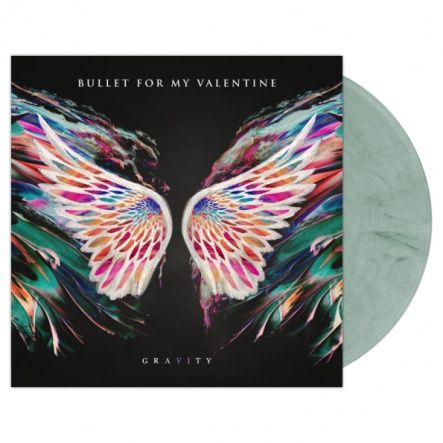 "Bullet For My Valentine - Gravity/ Vinyl, 12"" [ LP/ Gatefold/ Coloured  Clear/Blue/Black Swirl Vinyl] [ Limited Edition Only 100 Copies!] ( Original, 1st Press, 1st Edition 2018)"