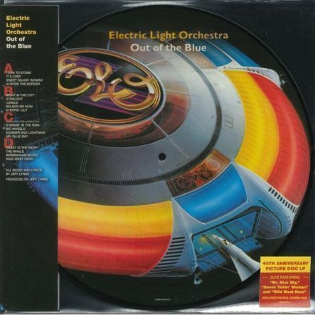 "Electric Light Orchestra - Out Of The Blue (40th Anniversary)/ Vinyl, 12"" [ 2LP/ Picture Disc] [ Limited Edition] ( Remastered, Reissue 2017) UK & EU"
