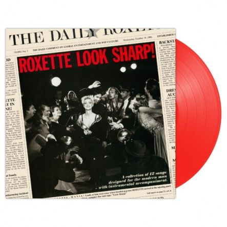 "Roxette - Look Sharp!/ Vinyl, 12"" [ LP/ Coloured Red Vinyl] [ Limited Edition] ( Remastered, Reissue 2018)"