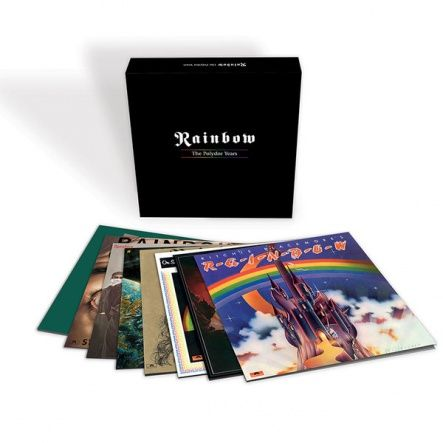 "Rainbow  - The Polydor Years/ Vinyl, 12"" [ 9LP/ 180 Gram/ Original Gatefold & Carton Sleeve/ Original inserts] [ Limited Edition Vinyl Box Set] ( Compilation, Live Recording, Remastered, Reissue 2014)"